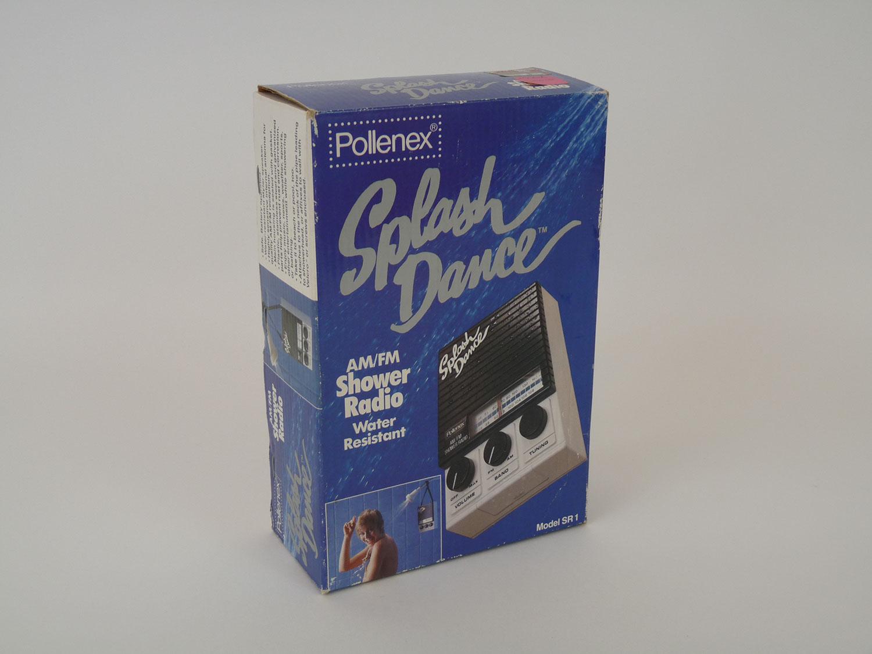 . Pollenex Splash Dance Radio for Bathroom Shower   JunkSave