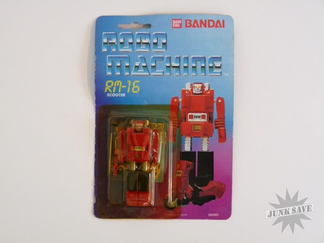 Bandai Robo Machine RM-16 Scooter Gobot Transformer Action Figure