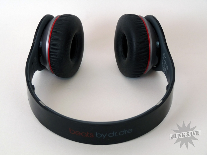 Monster Beats By Dre Wireless Headphones Black Over Ear