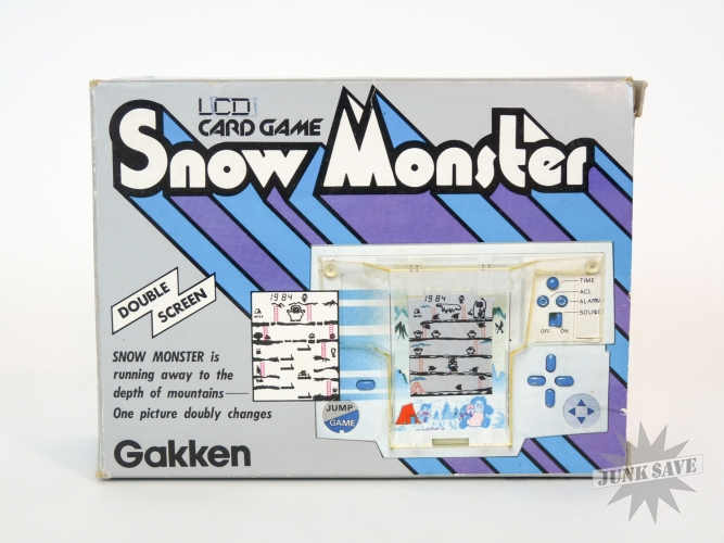 Gakken Snow Monster Handheld Game Watch Donkey Kong Clone