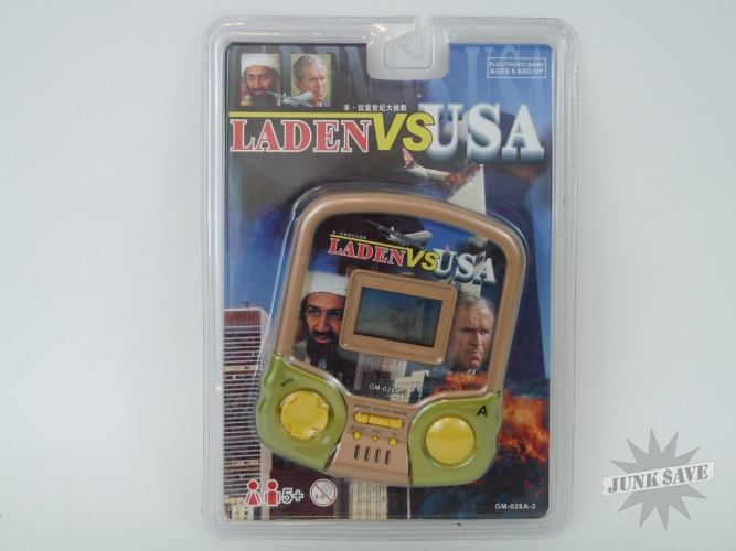 Laden VS USA 911 Handheld Video Game LCD Sept 11th