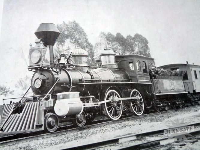 Vintage Railroad Poster 116