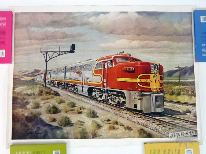 Vintage Railroad Poster 28