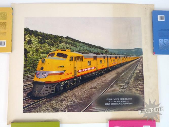 Vintage Railroad Poster 61