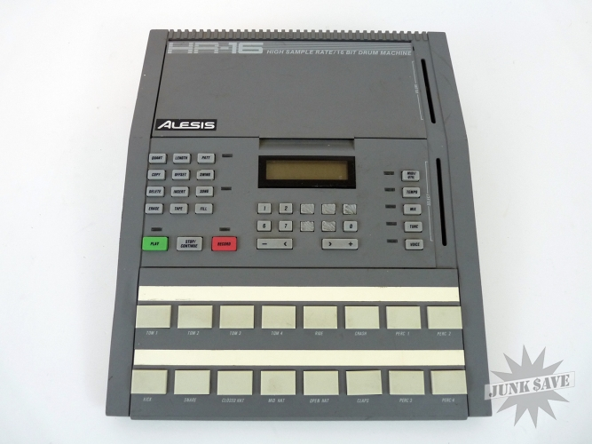 Alesis Drum Machine HR-16 Untested for Parts