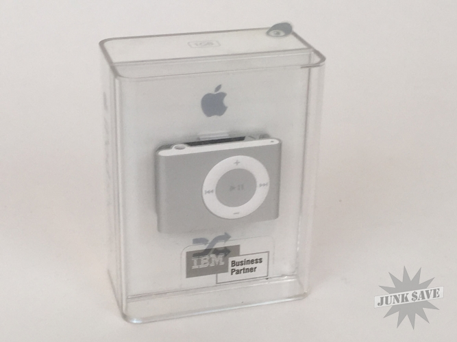 Apple iPod Shuffle 2nd Generation SEALED NEW Silver IBM Business Promo