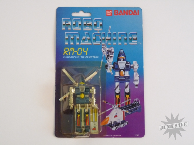 Bandai Robo Machine RM-04 Helicopter Gobot Transformer Action Figure