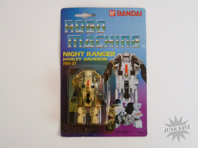 Bandai Robo Machine RM-37 Night Ranger Harley Davidson Gobot Transformer Action Figure