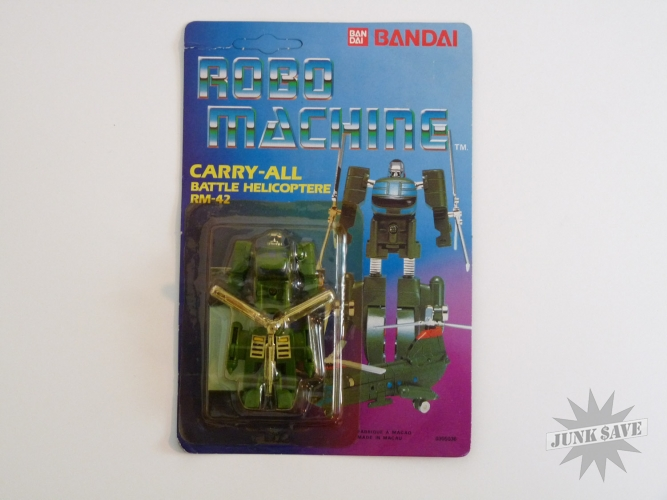 Bandai Robo Machine RM-42 Carry-All Battle Helicopter Gobot Transformer Action Figure