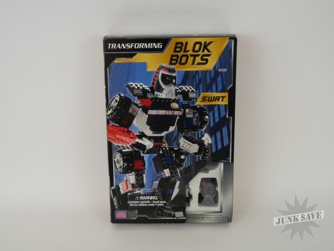 Blok-Bots Transformer Mega Bloks Swat Figure