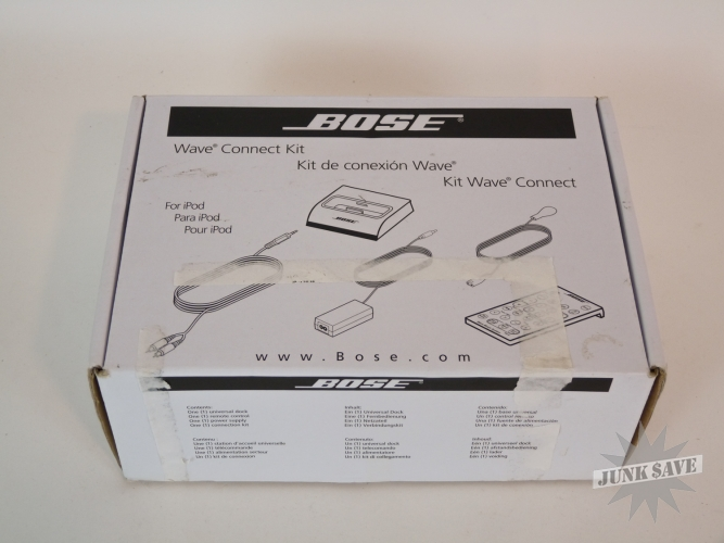 Bose Wave Connect Kit New In Box for iPods