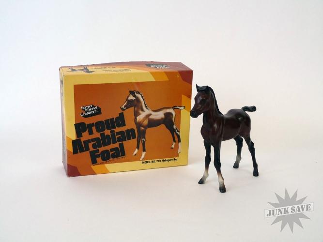 Breyer Horse Proud Arabian Foal #219 Vintage with Box