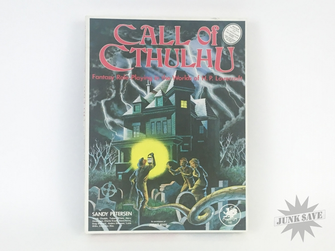 Call of Cthulhu RPG Chaosium 2nd Edition 1983 Boxed w Alone Against The Wendigo