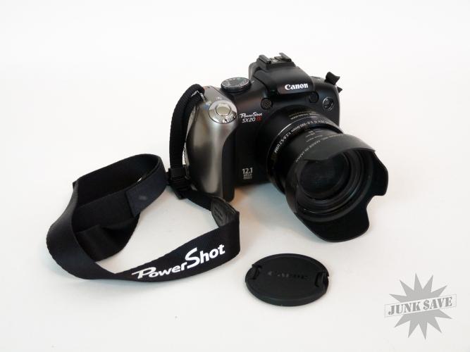 Canon Powershot Digital Camera SX20 IS 12.1 MP