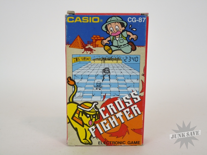 Casio Cross Fighter CG-87 LCD Electronic Game Minty Condition