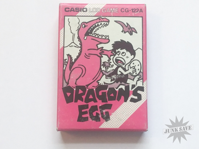 Casio LCD Dragons Egg CG-122A Handheld Game NOS
