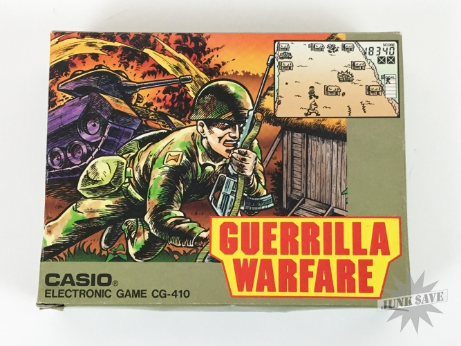 Casio Guerrilla Warfare LCD Electronic Game Watch CG-410 NOS