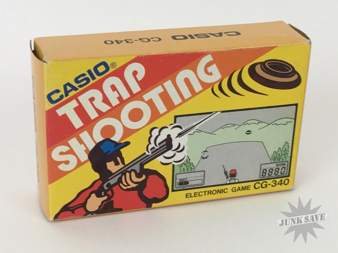 NEW OLD STOCK Casio Trap Shooting CG-340 LCD Handheld Game RARE