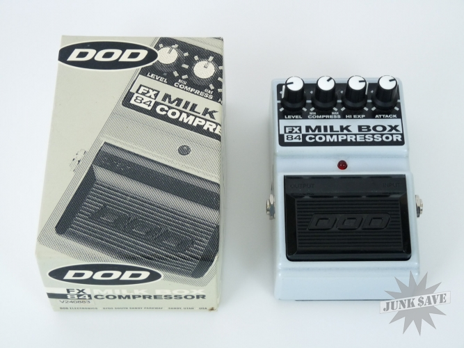DOD Milk Box Guitar Pedal FX 84 Compressor With Box