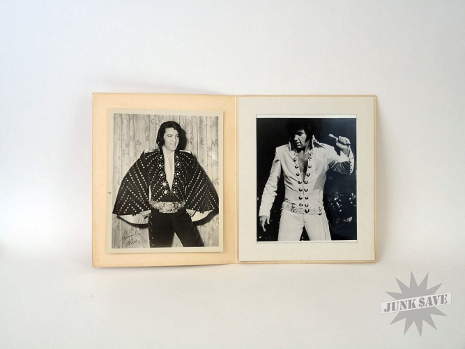 Elvis Souvenir Photos Vegas Hilton Album #2