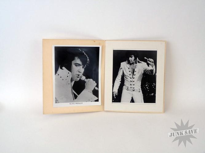 Vintage Elvis Souvenir Vegas Hilton Shows Bootleg Photo Album