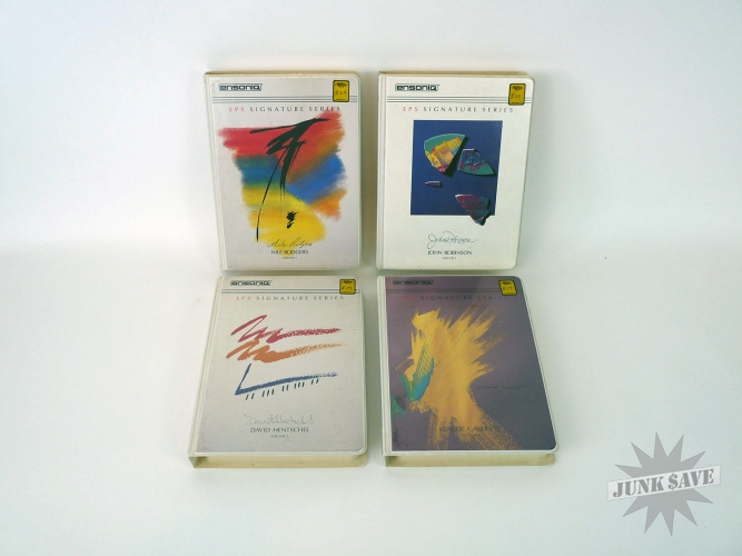 Ensoniq EPS Software LOT of 4 Signature Series Sample Sets