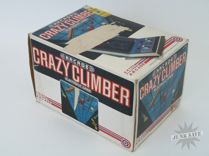 Entex Crazy Climber Tabletop Electronic Game Boxed