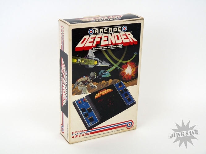 Entex Defender Handheld Game VFD Display