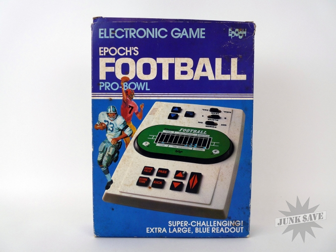 Epoch Pro-Bowl Football LED Game Vintage