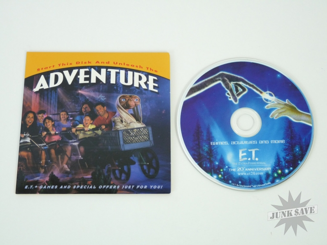 ET Extra Terrestrial CD-ROM Game 2002 20th Anniversary Kodak
