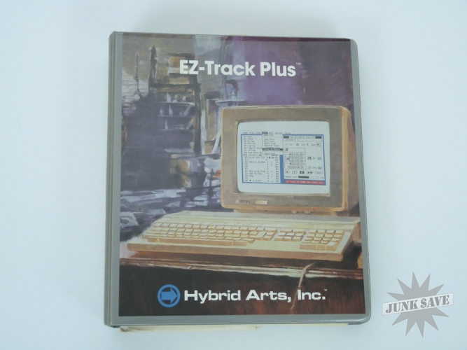 EZ-Track Plus Atari ST MIDI Sequencer Hybrid Arts Vintage