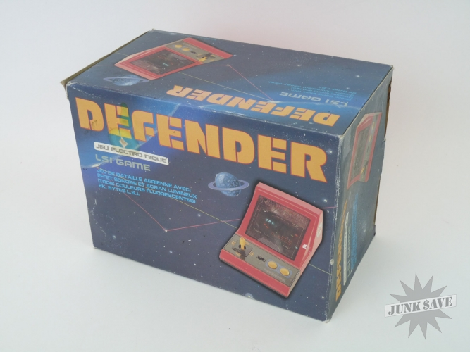 Nice Gakken Defender Tabletop Electronic Game VFD Boxed