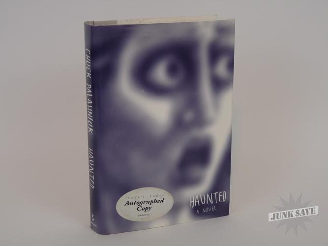 Haunted Chuck Palahniuk Signed 1st Printing Hardcover