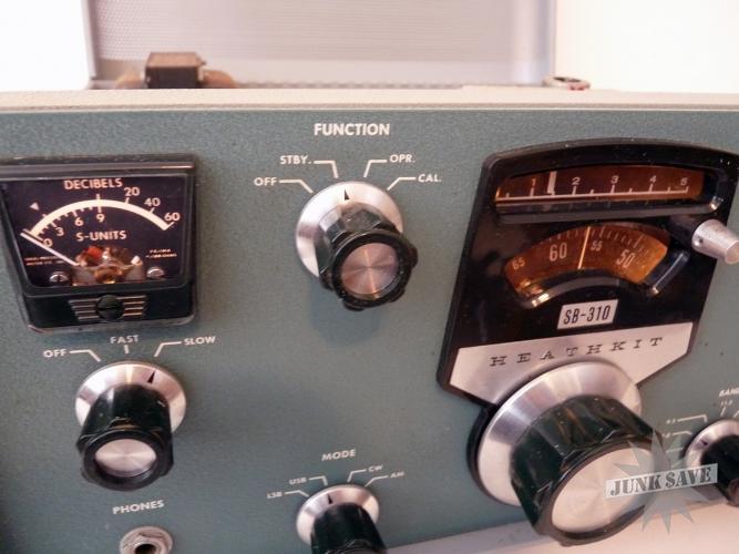 Heathkit SB-310 Shortwave Tube Radio Vintage | JunkSave