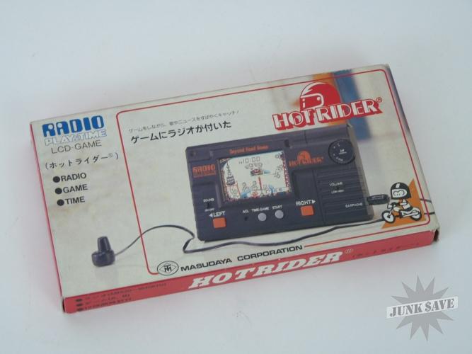 Hot Rider Evil Kenevil Radio Game Watch LCD Masudaya New Old Stock