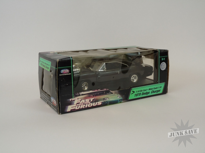 Fast and the Furious Die-Cast Car Dodge Charger by Joyride