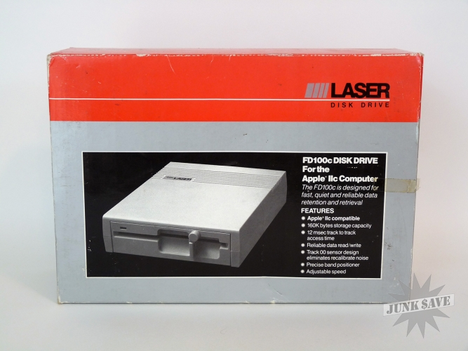 Apple II Disk Drive External Floppy from Laser V-Tech