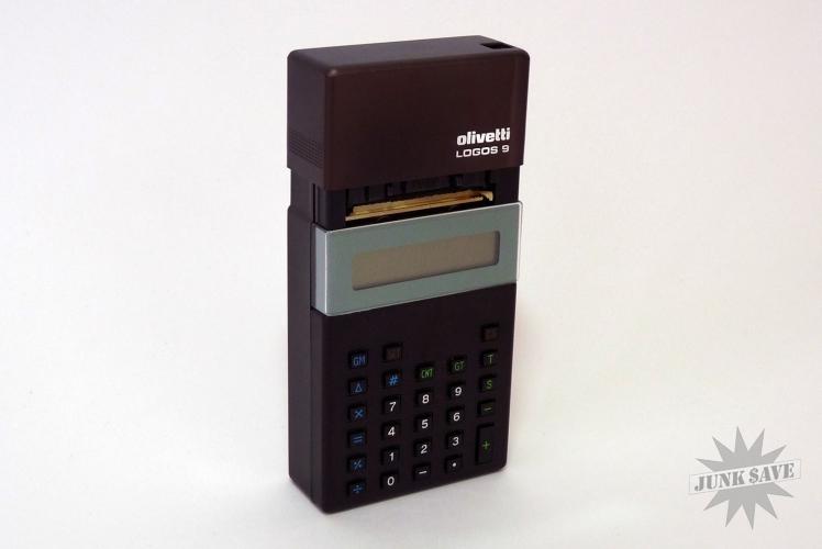 Olivetti Logos 9 Lcd Calculator Mini
