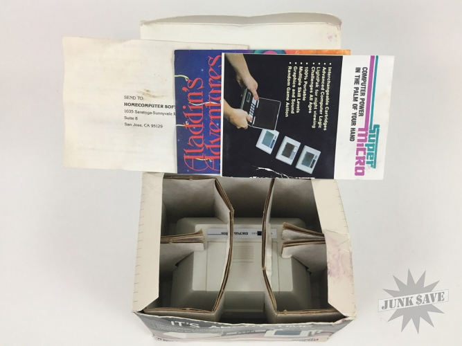 Palmtex Super Micro Video Game System Lot NOS Rare   JunkSave