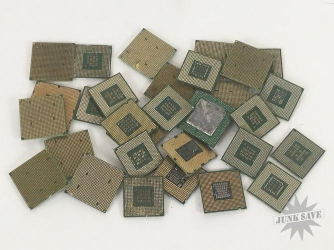 Celeron Pentium CPU Processor Lot Scrap Gold Recovery 2 LB