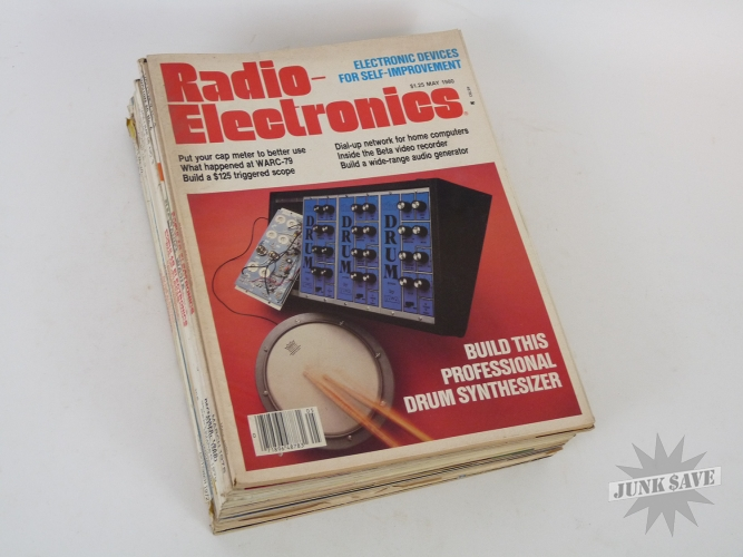 Lot of 14 Magazines Synthesizer Organ Moog 14 Back Issues Popular Electronics Radio