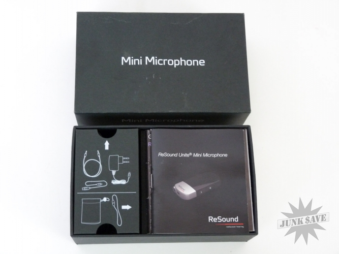 Resound Unite Mini Microphone Hearing Aid Device New