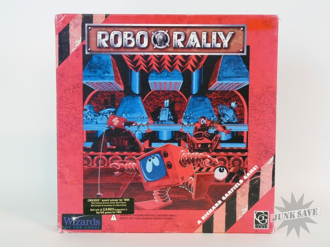 Robo Rally RPG Board Game Complete by Wizards West Coast