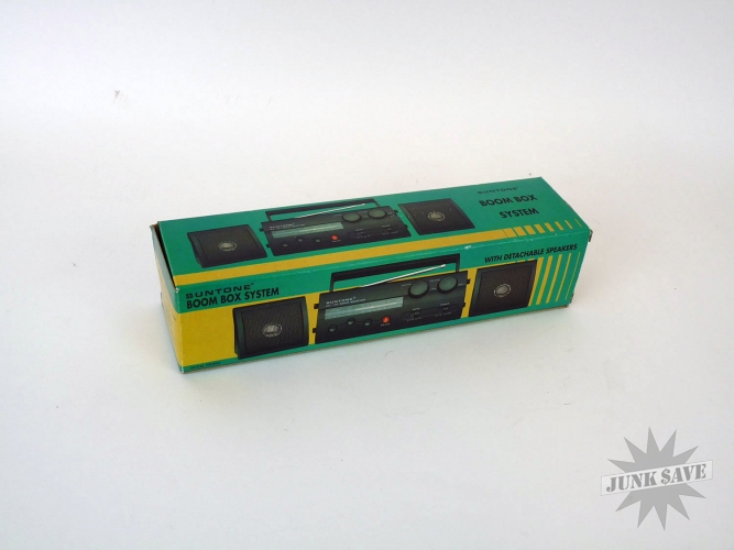 Suntone Mini-Boombox Vintage Dead Stock New