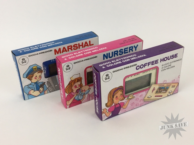NOS Sunwing Lot Coffee House Nursery Marshal Italy Giochi Preziosi