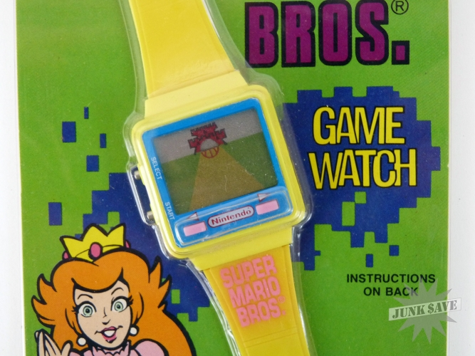 Princess Toadstool Nintendo Wrist Watch Game Super Mario