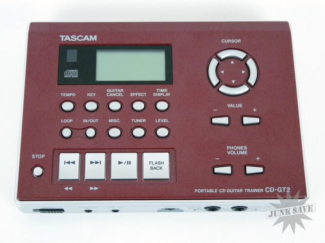 Tascam Portable CD Guitar Trainer Model CD-GT2