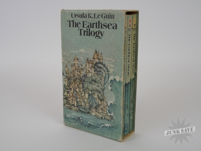 The Earthsea Trilogy Ursula LeGuin with Slipcase Paperback