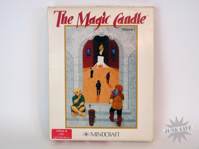 The Magic Candle Apple II Video Game RPG Mindcraft