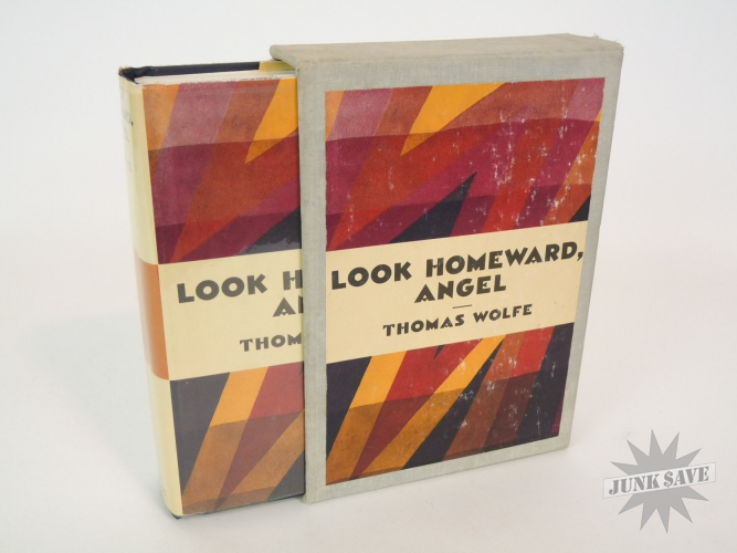 Thomas Wolfe Look Homeward Angel Hardcover With Slipcase 1957 Edition